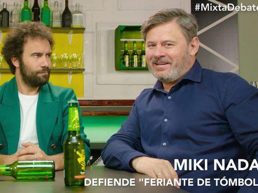 ¨El Debatex¨ con Arkano y Miki Nadal ¿Comunicarse en verso o como un feriante?