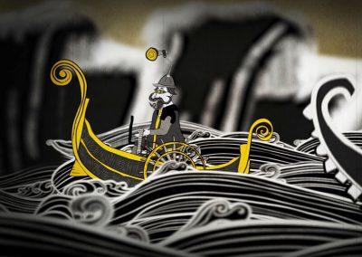 Videoclip animación Subterranean