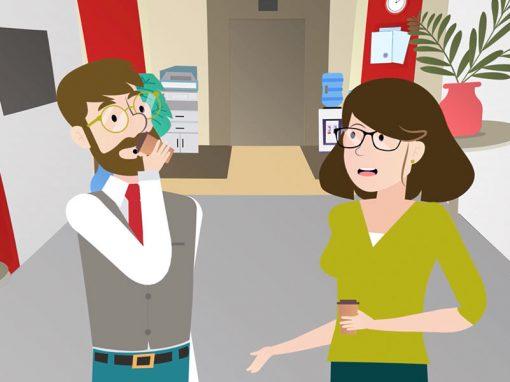 Vídeo de animación 2D Lacer ¨Actuar de Manera Ética¨