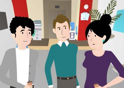 Vídeo de animación 2D Lacer ¨Gastos¨