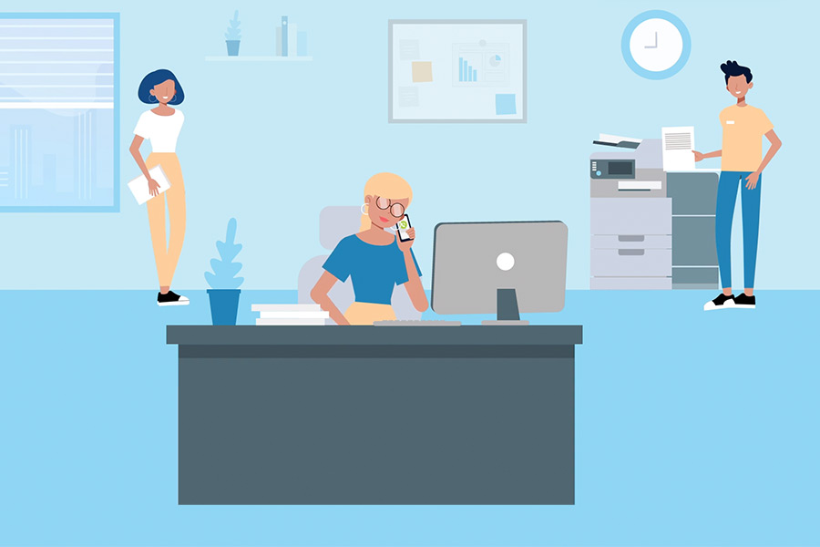 Vídeo de animación explicativo Go Contact ¨Seguimiento Paquete¨