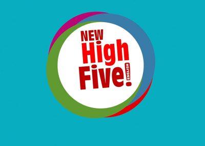Vídeo de animación y motion graphics ¨New High Five¨
