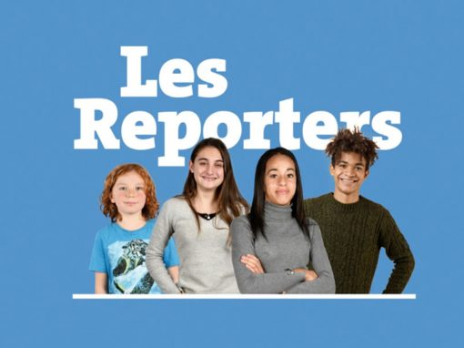 Vídeo de animación y motion graphics ¨LES REPORTERS¨